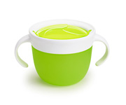 Dispenser Snack Catcher® con Manici Verde