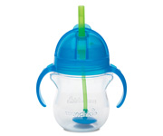 Click Lock™ Weighted Flexi-Straw Cup - 7oz Blue