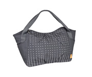 Bolso Carricoche Twin Dotted Lines Ebony