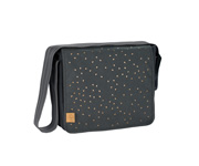 Bolso Messenger Triangle Dark Grey