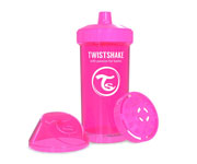 Copo Twistshake Fruit Splash Rosa 360ml