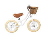BALANCE BIKE BANWOOD FIRST GO GIRL WHITE