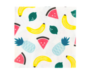 20 paper napkins - fruits