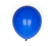 10 Globos Color Azul