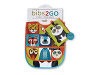 Pack de 2 Babetes Animalia