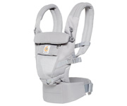 Marsupio Porta bebé Ergobaby® Adapt Cool Air Mesh Grey