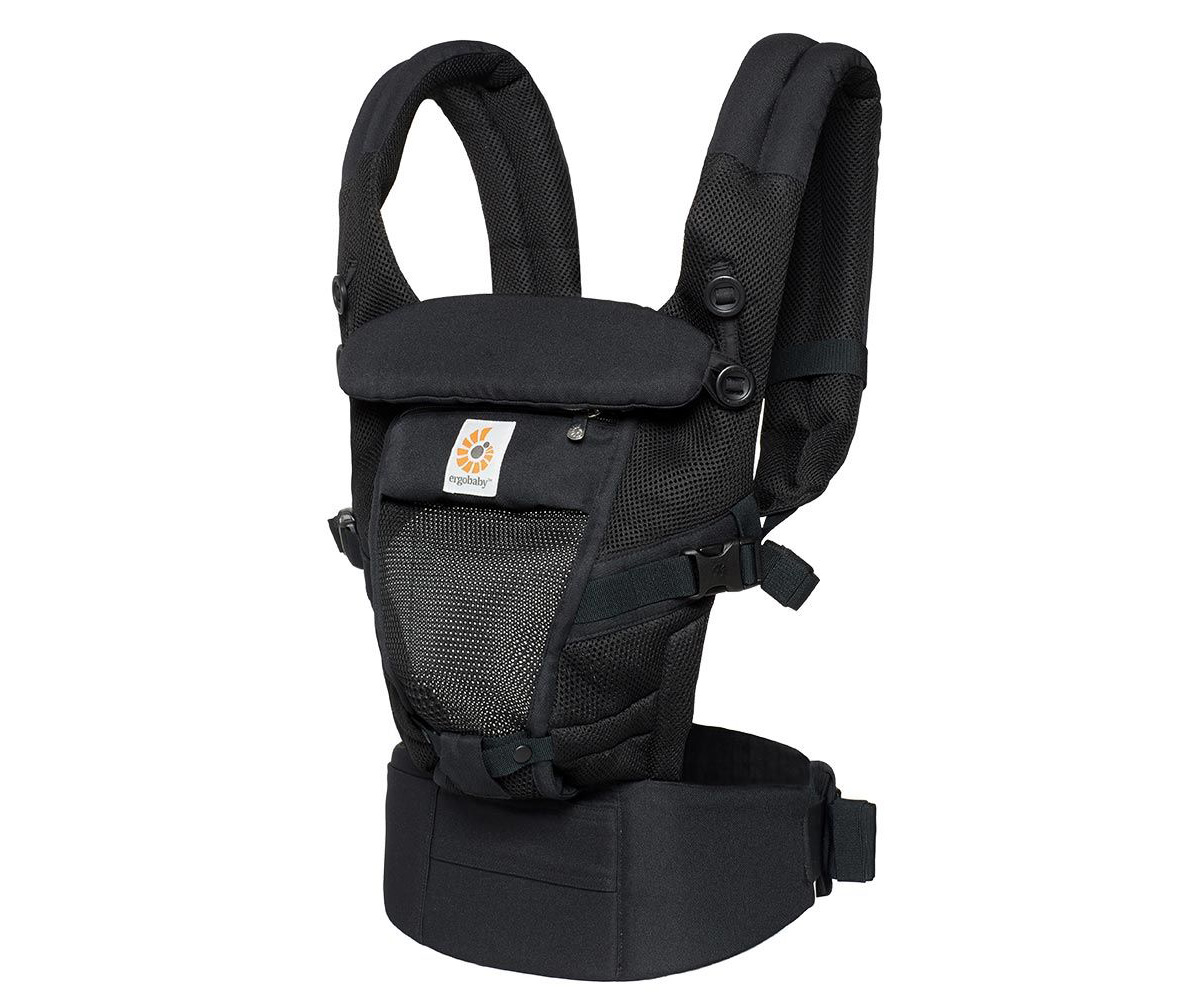Mochila Portabebé Ergobaby® Adapt Cool Air Negro Onyx