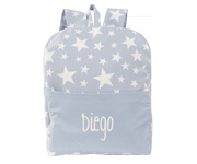 Mochila Dreams Celeste Personalizable
