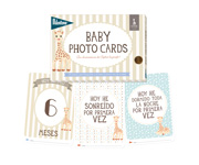 Baby Photo Cards - Sophie la girafe Gift wrap available