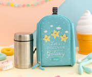 Mini Borsa Termica + Thermos Pappa Mr. Wonderful