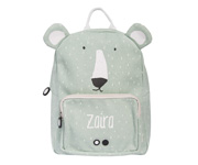 Mochila Trixie Mr. Polar Bear Personalizada