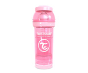Twistshake Biberon Anticolica Pastel Rosa 260ml
