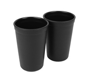 2 Drinking Cup Black