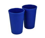 2 Drinking Cup Navy Blue