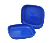 Re-Play 2 Pack Flat Plate Navy Blue