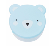 Pack 4 Snack Box Bear Blue