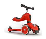 Monopattino 2 in 1 Highwaykick One Rosso