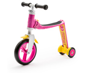 Patinete 2 en 1 Highwaybaby Plus Fucsia/Amarillo
