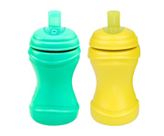 Re-Play 2 Pack Soft Spouts - Sunny Yellow/Aqua