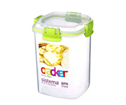 Bote Sistema Crackers Accents Verde 900ml