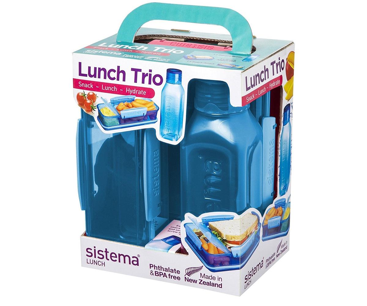 /410/ml colori assortiti Blue Sistema lunch snack Attack/