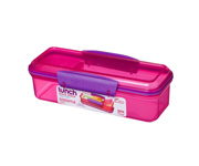 Lunch Box Sistema Snack Attack Lunch Rosa 410ml