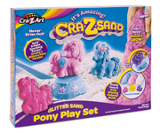 Arena Moldeable Crazsand Pony Play Set
