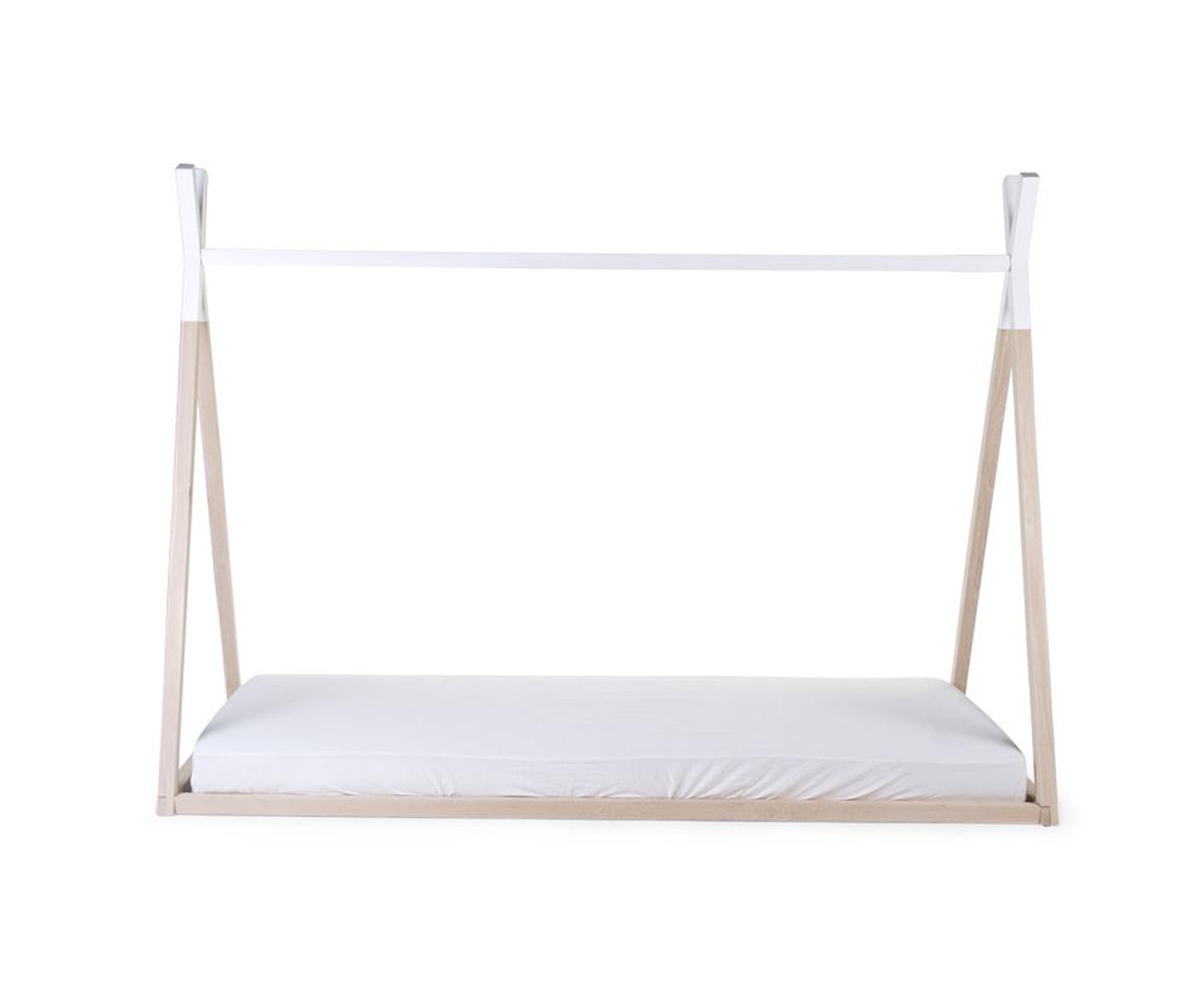 Estructura cama tipi 90cm x 200cm blanca - Estructura cama ...
