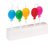 Pack 5 Candeline Palloncino