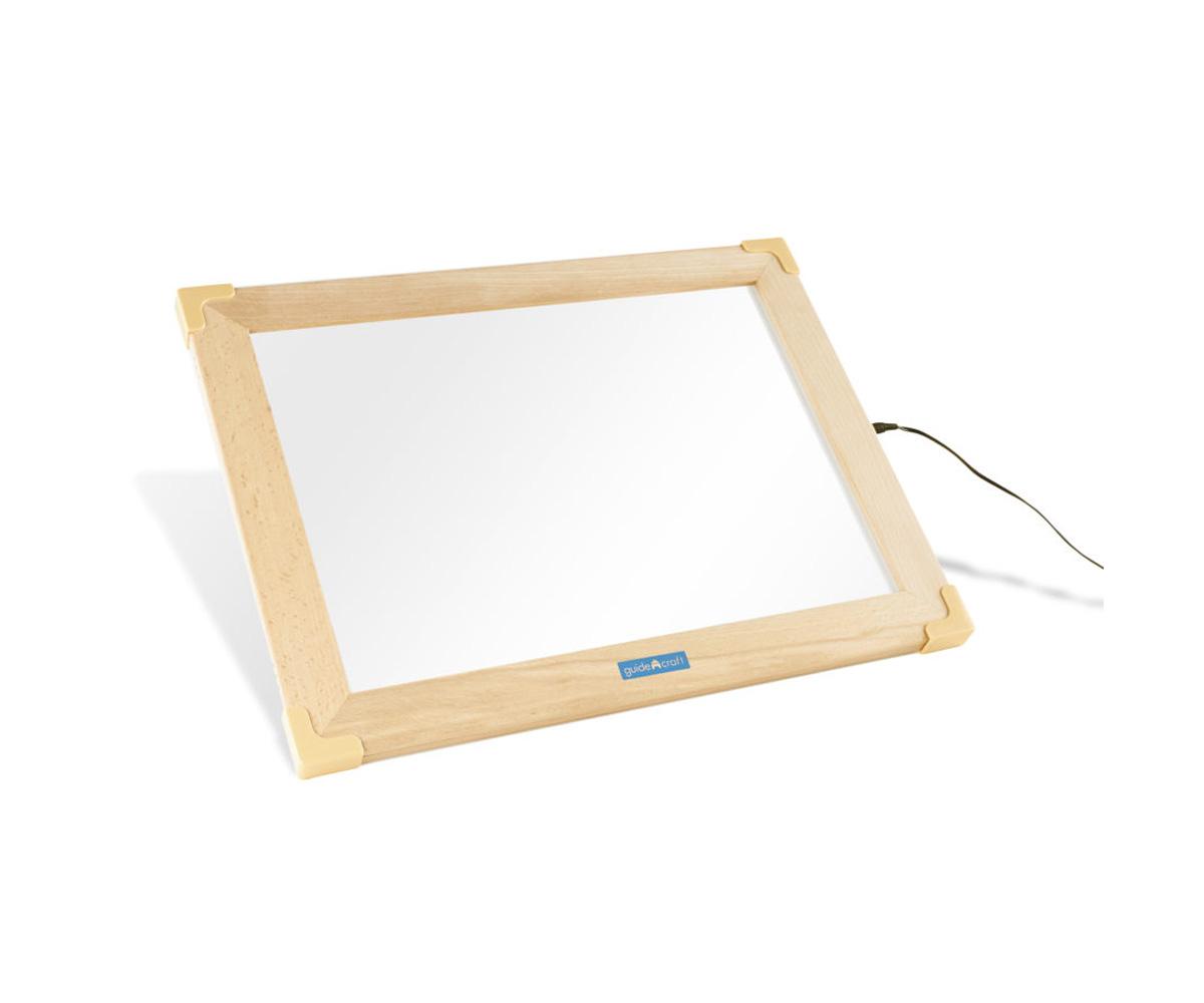 Mesa de luz marco madera de Tutete