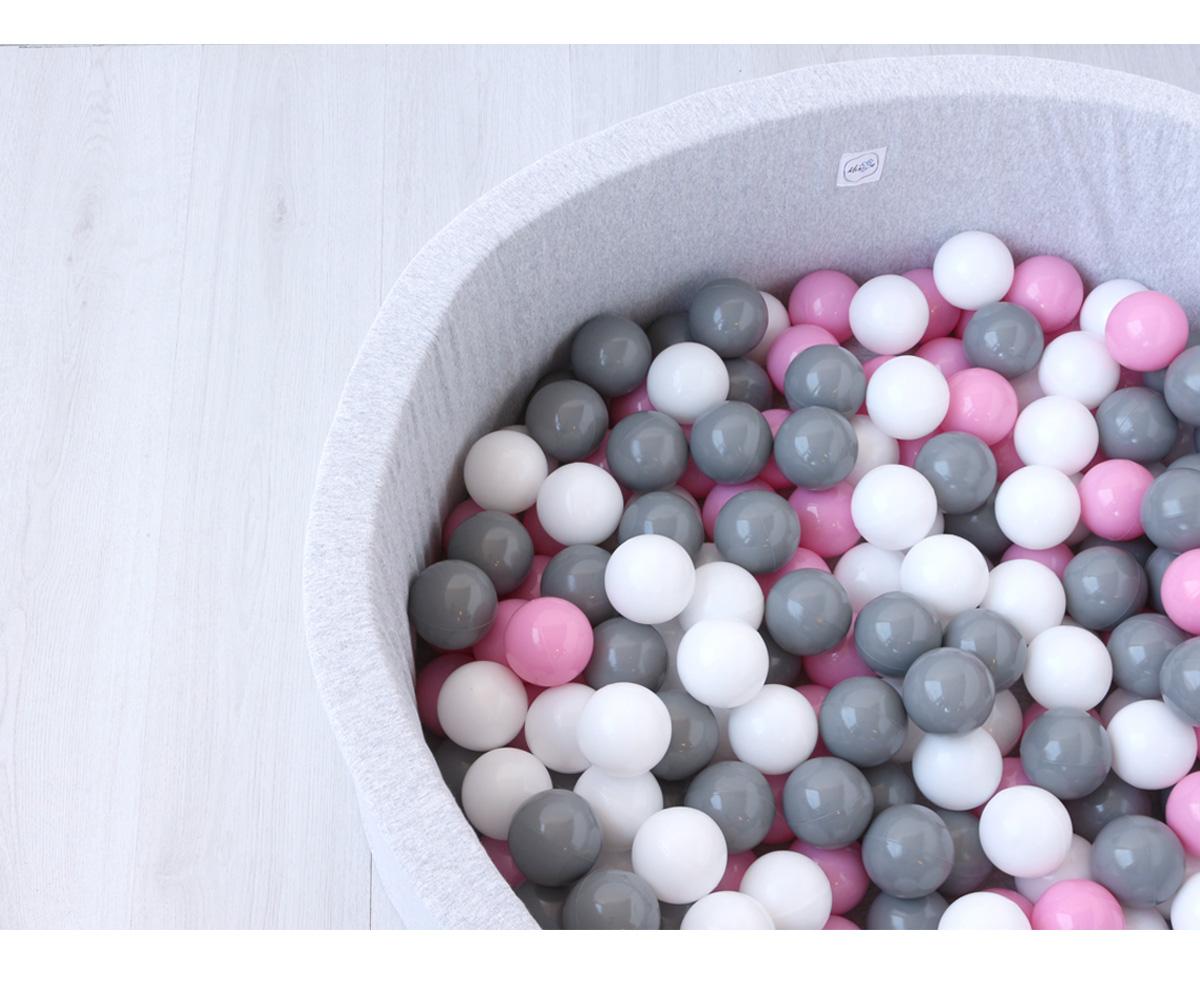 50 palline piscina minibe turchese - Minibe piscina bolas ...