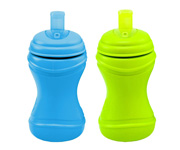 Re-Play 2 Pack Soft Spouts - Sunny Purple/Blue