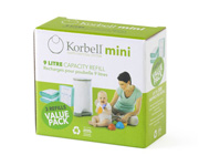 Pack 3 KB Ricambi Mini Korbell™ 9L