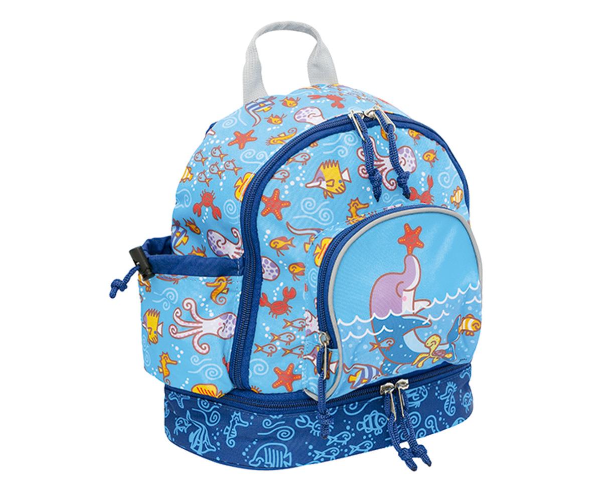 Mochila Bolsillo Dolphin Infantil Térmico Katuki Con Errq6