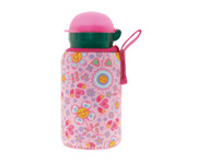 Botella Aluminio con Funda Katuki Bugs&Flowers 350ml