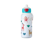 Botella Campus Pop-Up Animal Friends 400ml