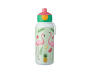 Botella Campus Pop-Up Tropical Flamingo 400ml
