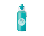 Botella Campus Pop-Up Personalizada Turquesa 400ml