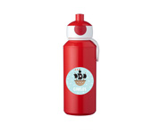 Botella Campus Pop-Up Personalizada Roja 400ml
