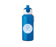 Botella Campus Pop-Up Personalizada Azul 400ml