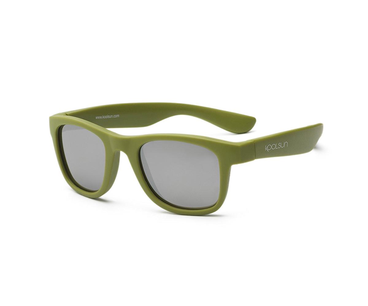 543e023c54 Gafas de Sol Niño Flexibles Wave Army Green 3+ - Tutete