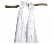 Pack 2 Mussoline Miffy Rosa