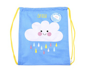 Mochila Saco Happy Cloud Personalizada