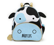 Personalisable Zoo Cow Rucksack