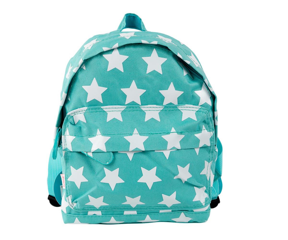 revisa a2d27 a78b8 Mochila Estrellas Turquesa Personalizada - Tutete