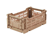 Caja Lillemor Plegable Mini Warm Taupe