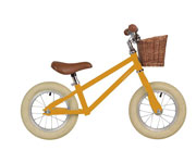 Bicicletta senza pedali Moonbug Balance Bike Yellow