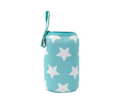 Funda Neopreno Estrellas Turquesa 500ml Personalizable
