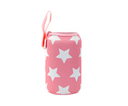 Funda Neopreno Estrellas Rosa Chicle 500ml Personalizable