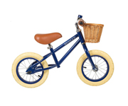 BALANCE BIKE BANWOOD FIRST GO NAVY BLUE